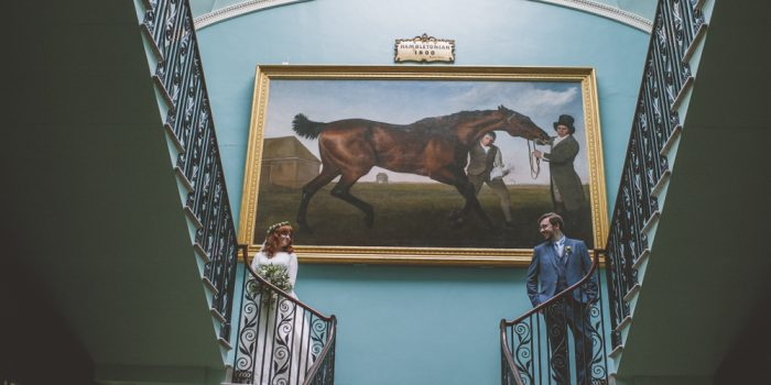 John & Steph // Temple Of The Winds // Mount Stewart