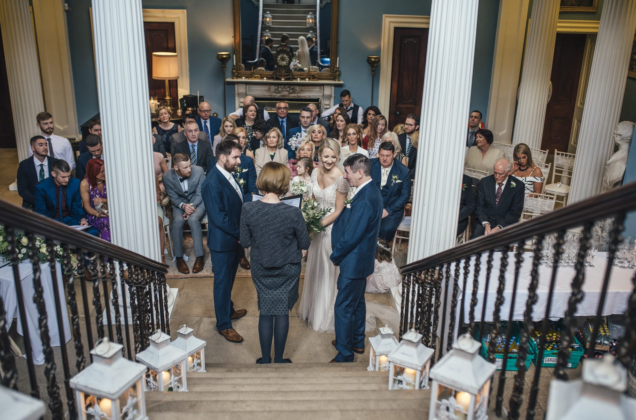 Drenagh House wedding photography