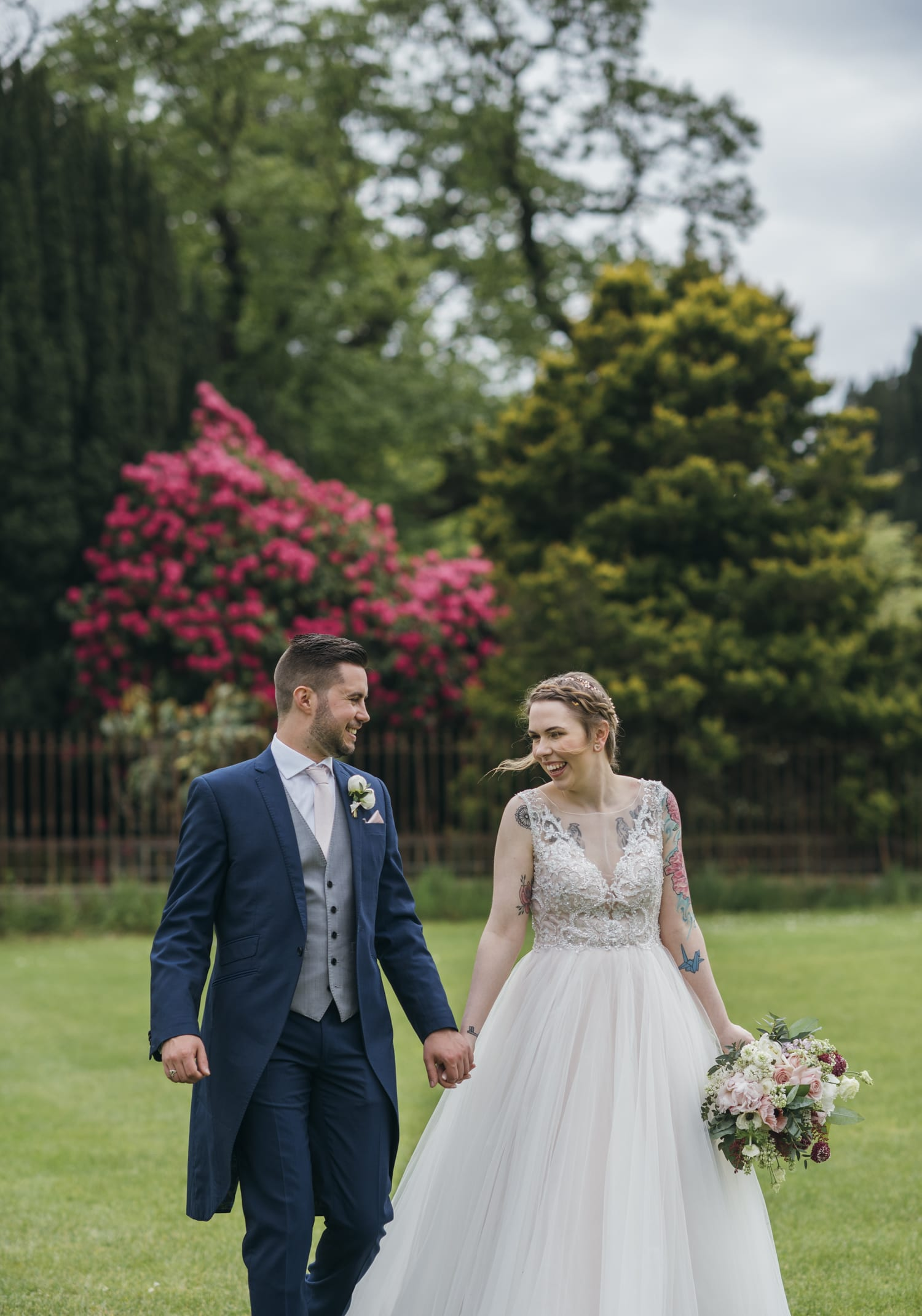 Larchfield Estate wedding photography