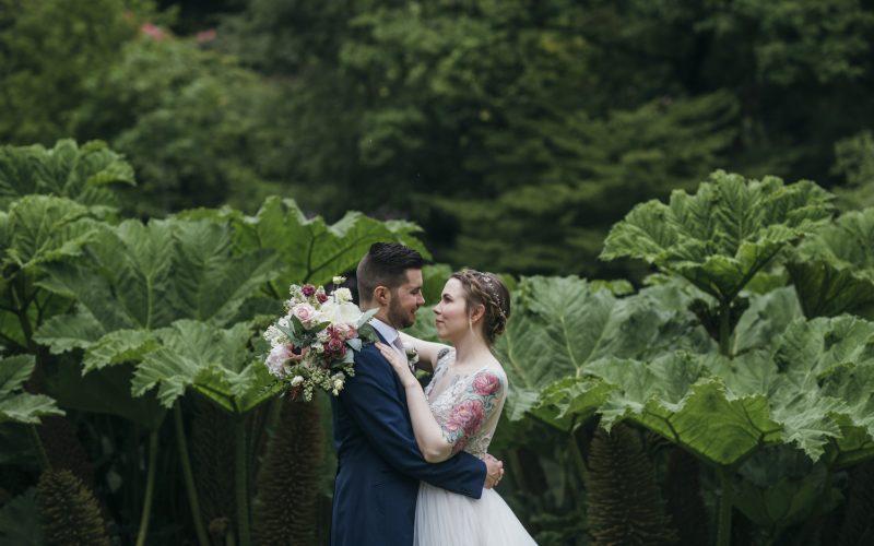 Larchfield Estate Wedding - Kelsey & Conor
