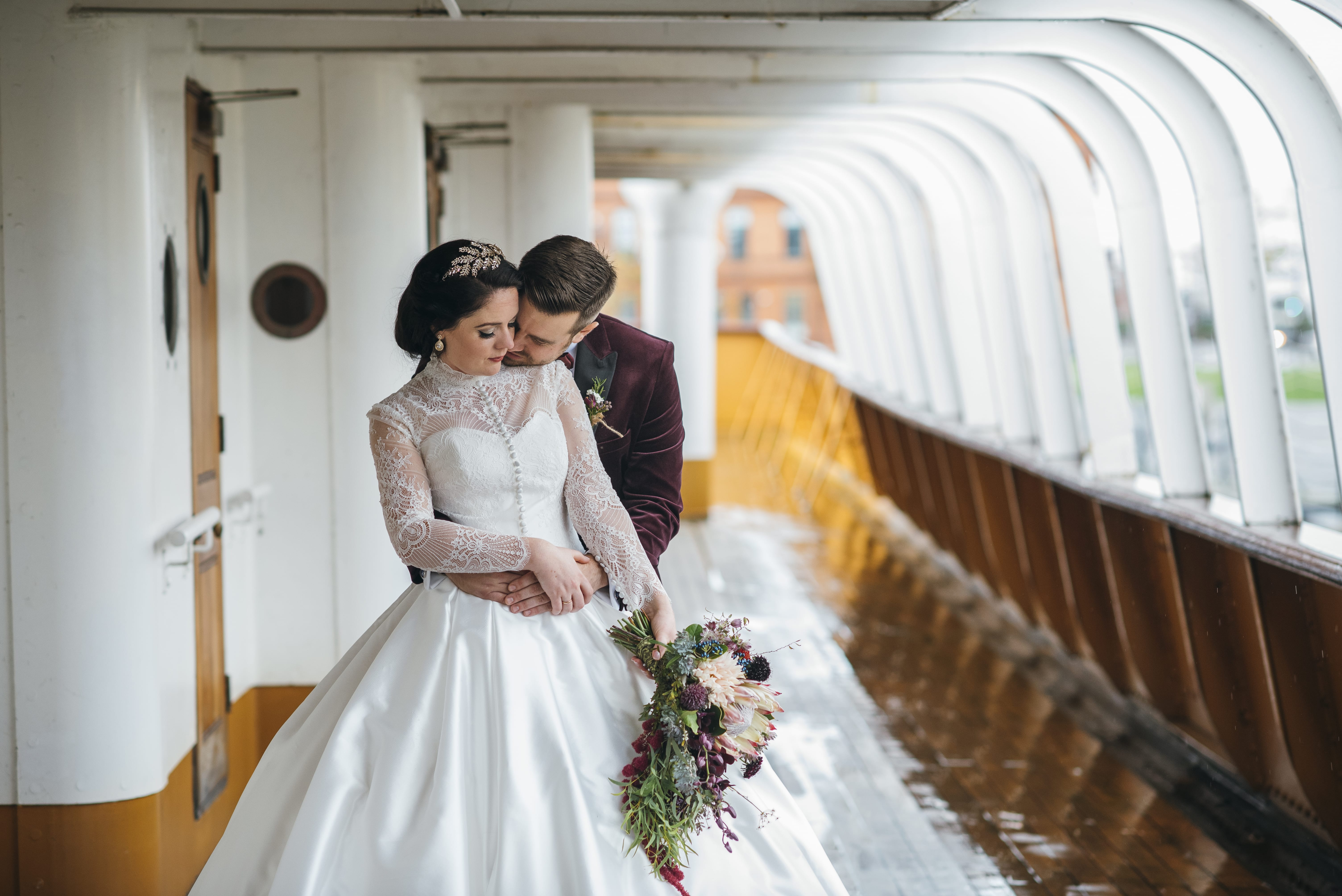SS Nomadic Belfast wedding photography
