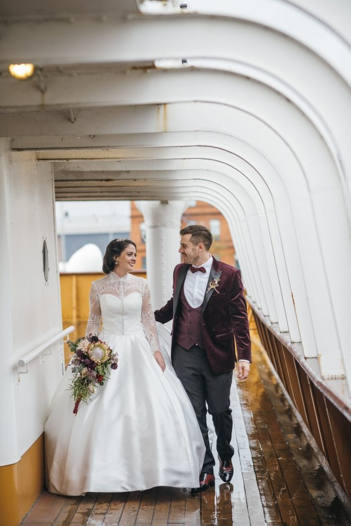 SS Nomadic Belfast wedding photography