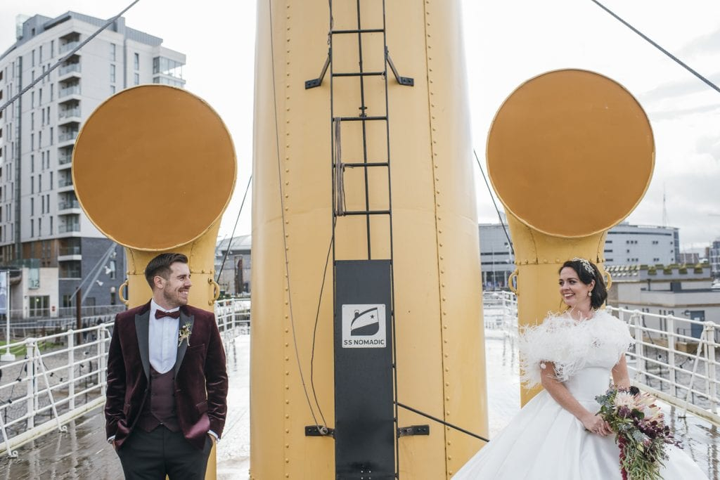 SS Nomadic wedding photography