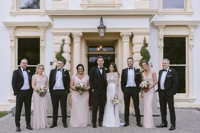 Bridal Party at Galgorm