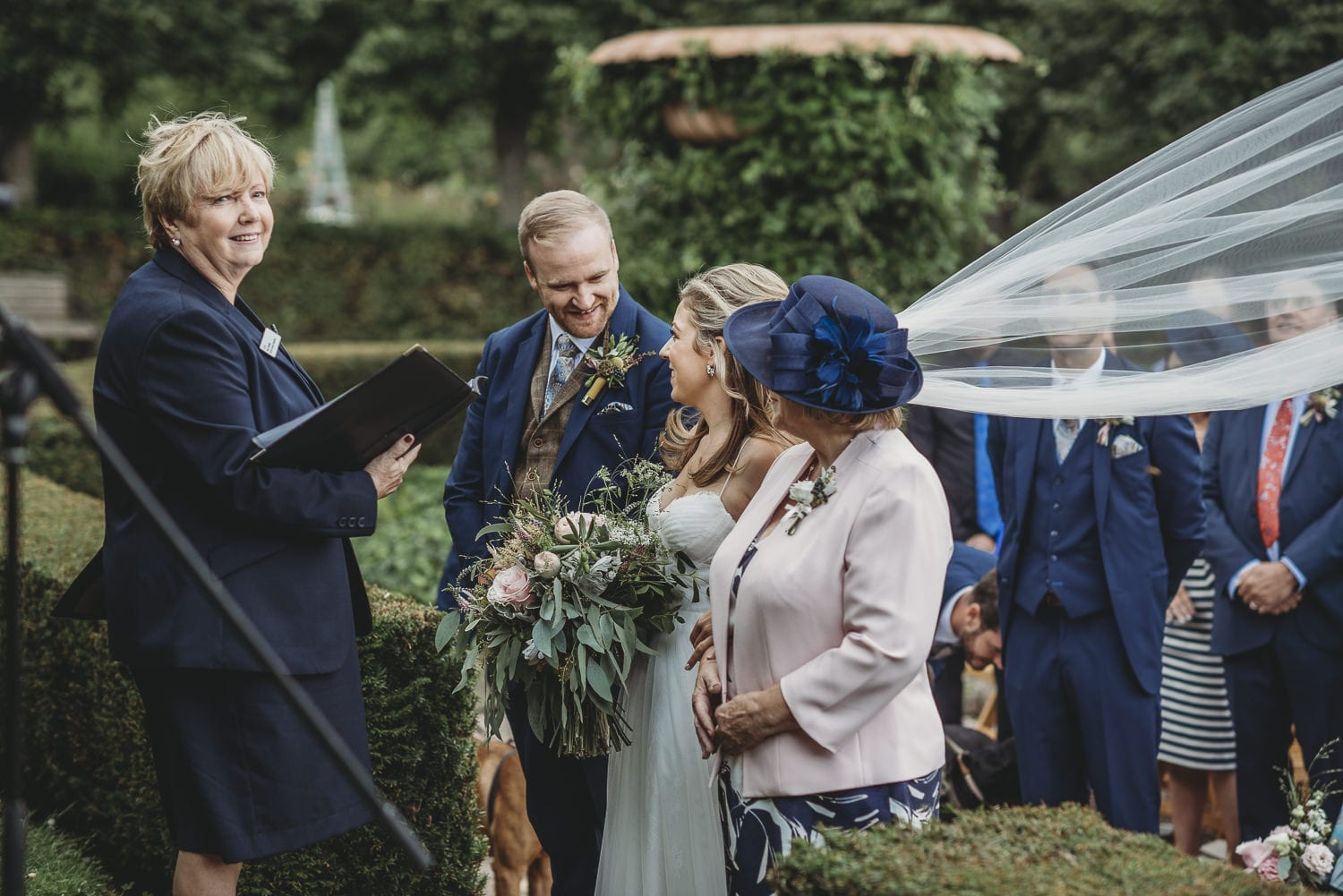 Larchfield Estate outdoor ceremony