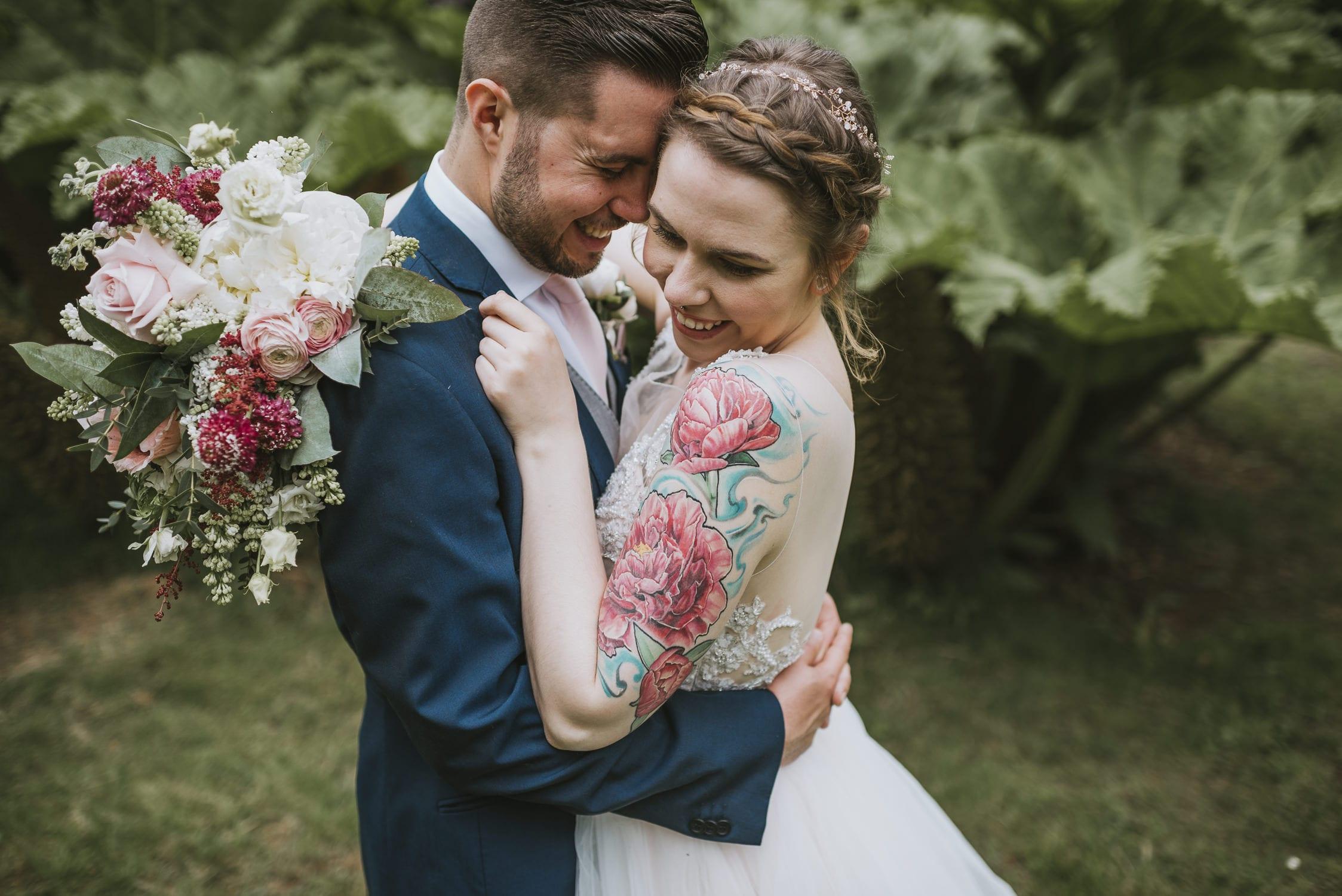 Larchfield Estate wedding photographe