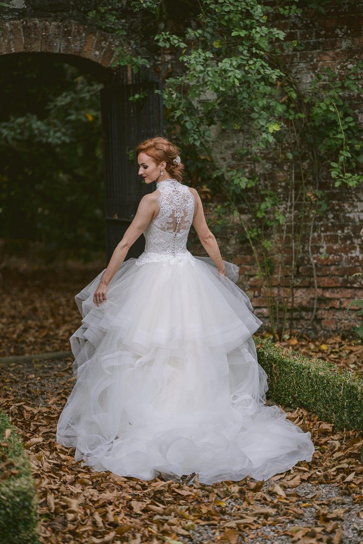 Bride Larchfield Estate wedding photography