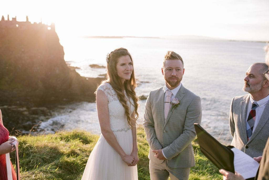 Dunluce Castle wedding