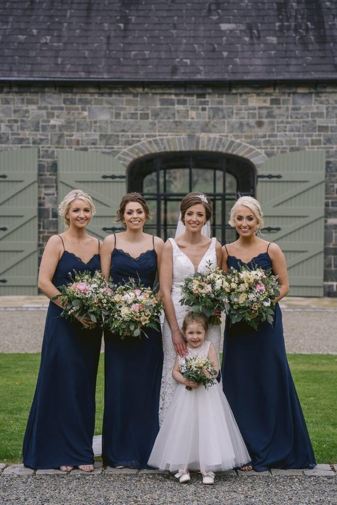 Bridesmaids at Montalto Estate