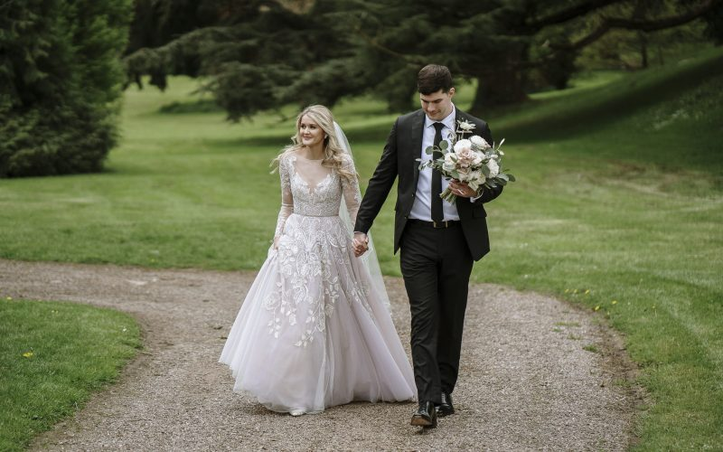 Castle Leslie Estate wedding - Alexa & Aaron