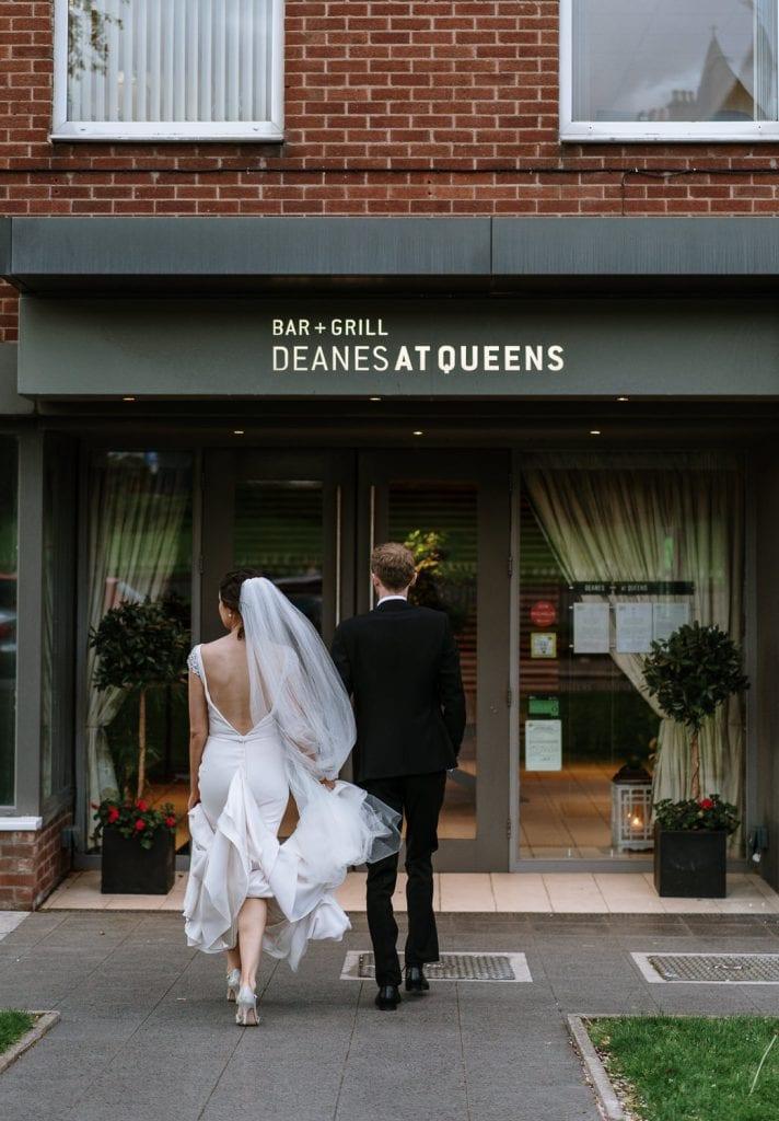 Deans at Queens weddings