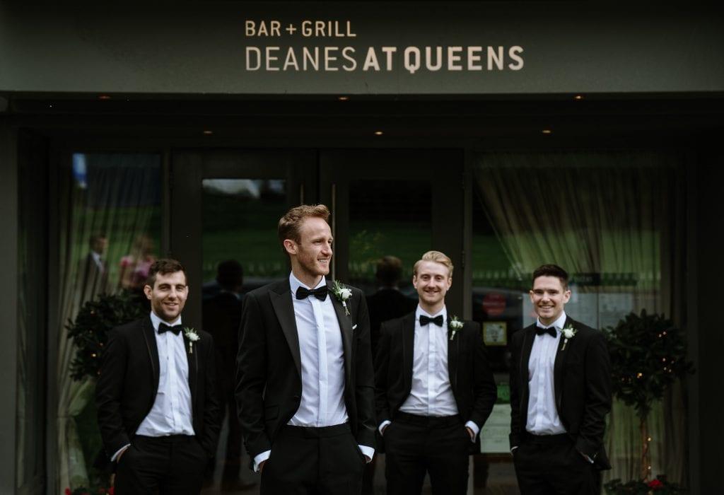 Groomsmen Deans at queens