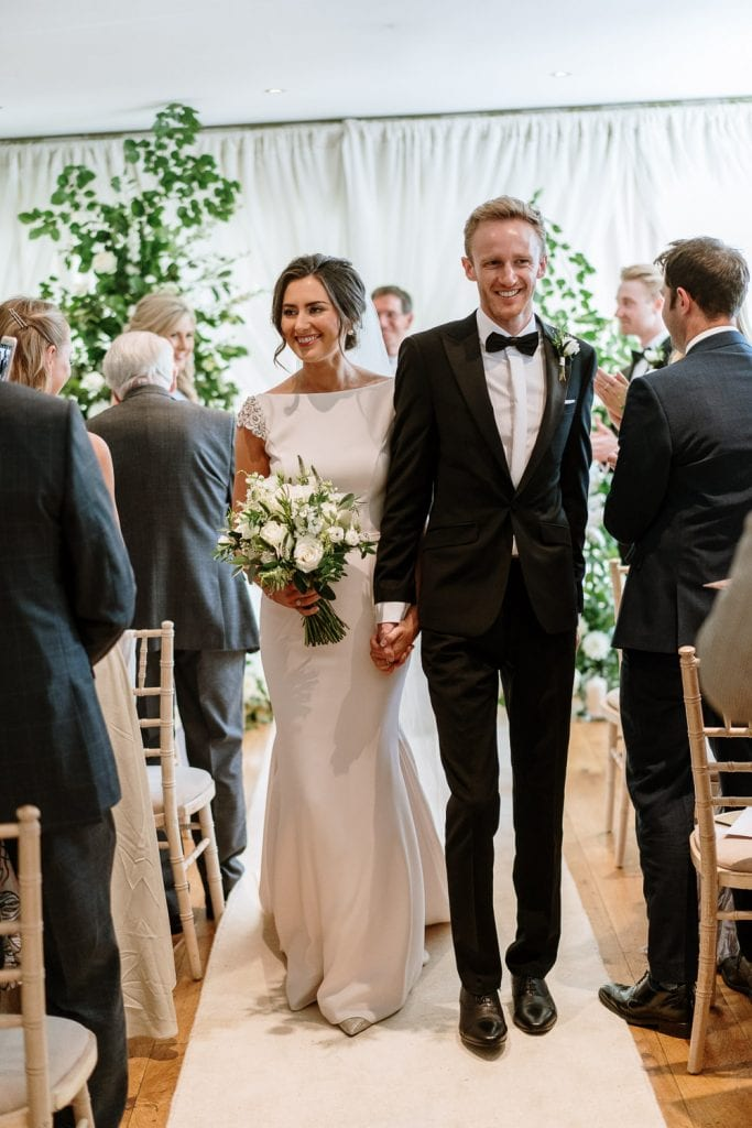 Deans at Queens wedding