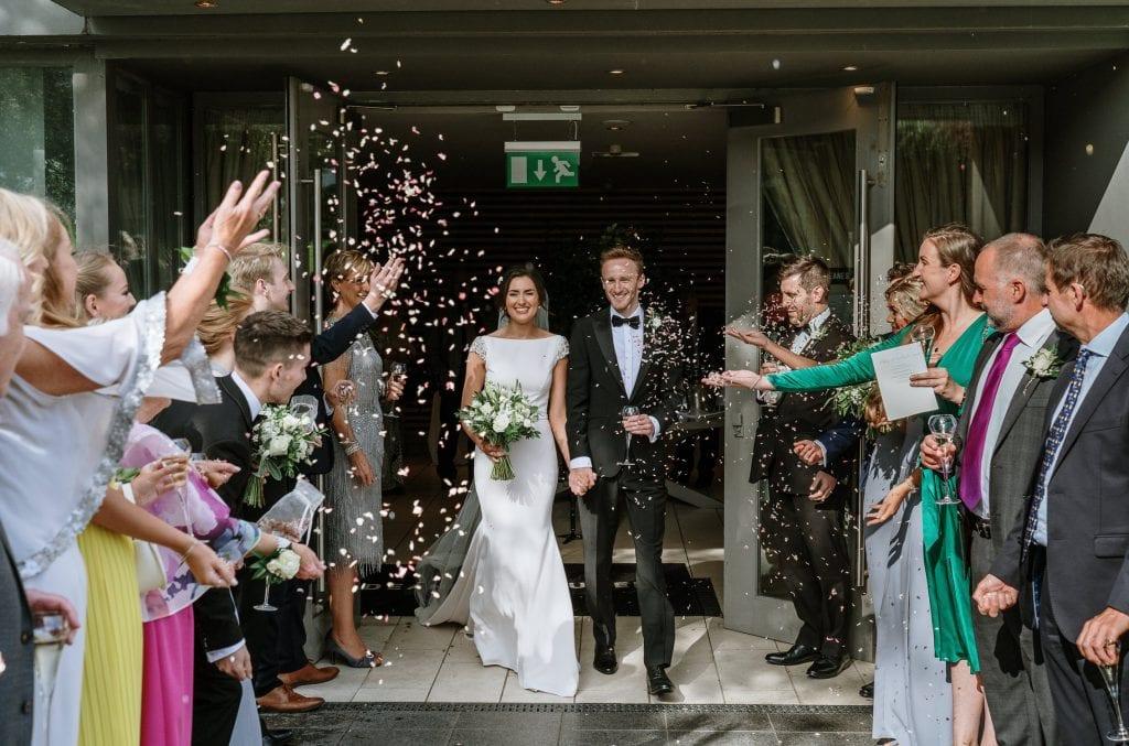 Deans at Queens wedding photos
