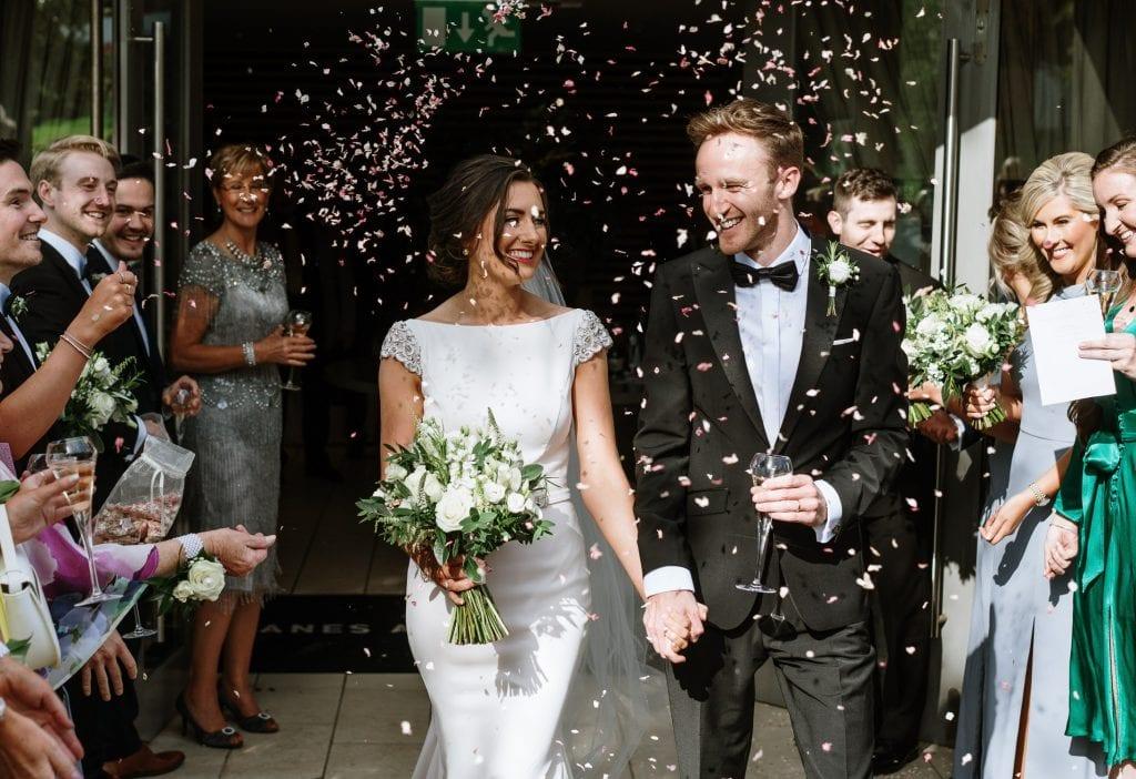 Wedding photos deans at queens Belfast