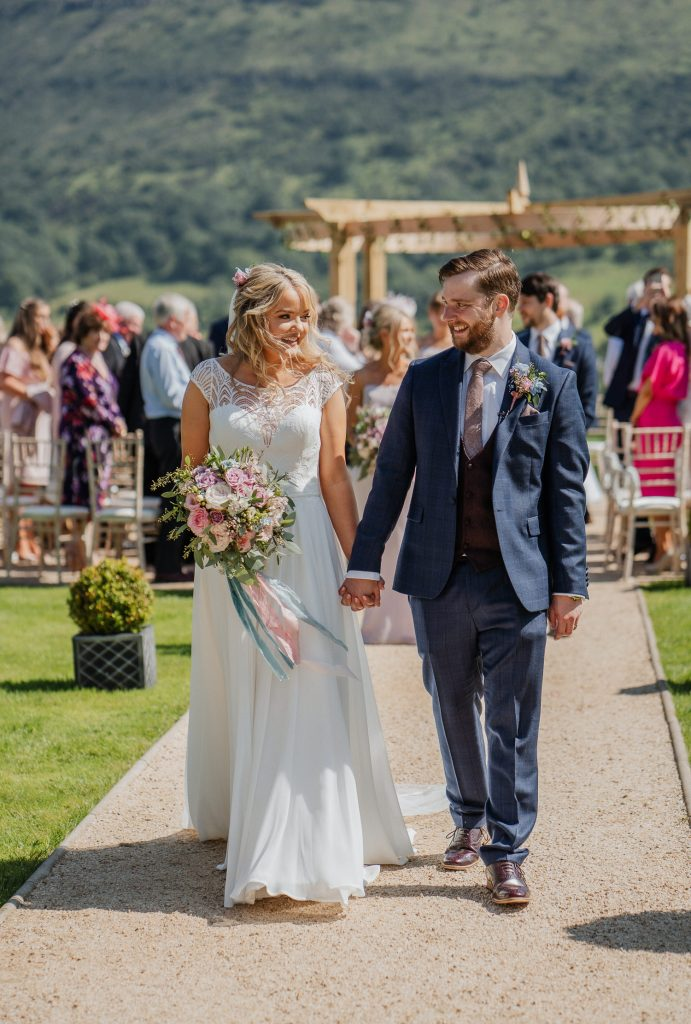outdoor wedding at Kilmore Country House